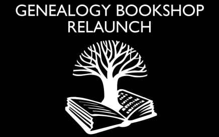 Genealogy Bookshop relaunched